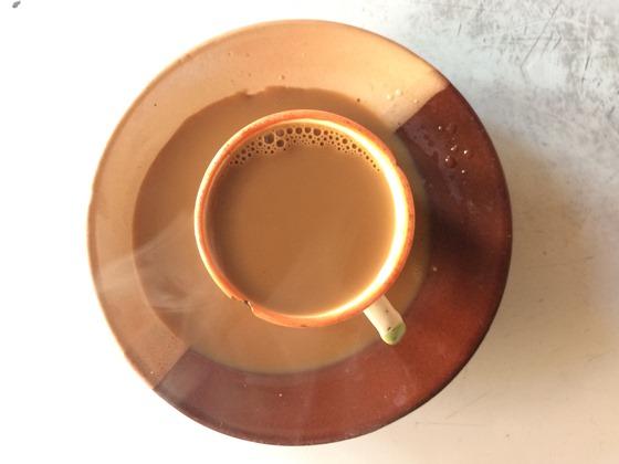 Tea is a necessity.